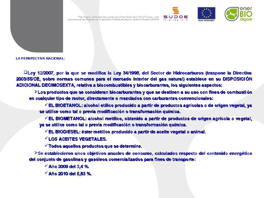 Presentación D. José Manuel Lamela Rivera. Dirección General de Industria de la Xunta de Galicia